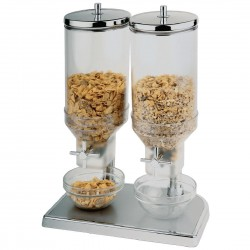 APS Cereal Dispenser - Double 2 x 4.5Ltr