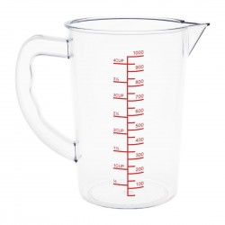 Vogue Polycarbonate Measuring Jug 1Ltr