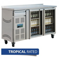 Polar Double Door Premium Bar fridge