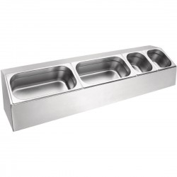 Vogue Long Gastronorm Pan Rack