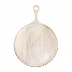 Mangowood Round Wood Serving Board