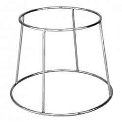 Chrome Plated Platter Stand