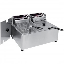 Birko Double Pan Bench Top Fryer 2 x 5Ltr 1001002