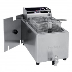 Birko Single Pan Bench Top Fryer 8Ltr 1001003