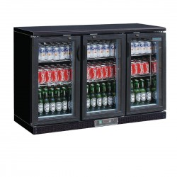 Polar 3 Door Back Bar Cooler