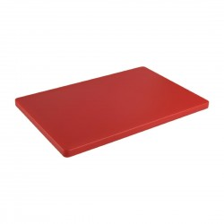 Hygiplas Thick Low Density Red Chopping Board