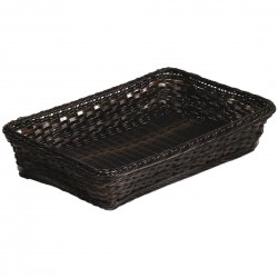 APS Polyratten Basket Brown GN 1/1 100mm