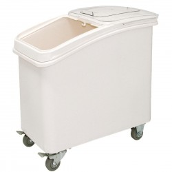 Vogue Ingredient Bin with Scoop 81Ltr