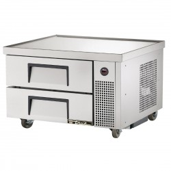 True Refrigerated Chef Base Stainless Steel