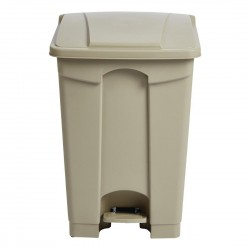Jantex Step On Bin Beige 45Ltr