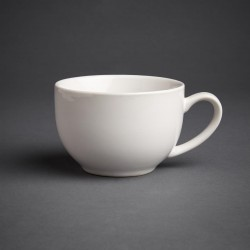 Olympia Cafe Cappuccino Cups White 340ml