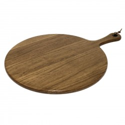 Olympia Acacia Handled Wooden Board Round 355mm