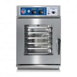 Blue Seal by Moffat S Line 6X 1/1 Gnu Electric Compact Combi Steamer with Fully Automatic Cleaning System