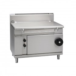 Waldorf by Moffat 1200mm 120 Ltr Bratt Pan with Manual Tilt Natural Gas BP8120G