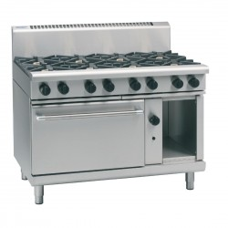 Waldorf by Moffat 1200mm Oven Range with 2 Burners and Griddle LPG RN8819G