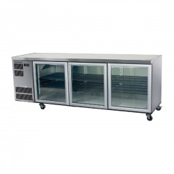 Counterline Slim 3 Glass or Solid Door Undercounter Chiller C/W Castors