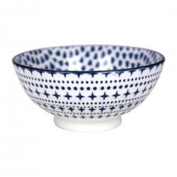 Gusta Out Of The Blue Drops Round Bowl Blue 120mm