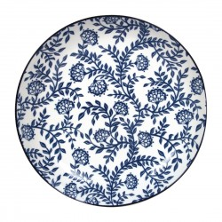 Gusta Out Of The Blue Flowers Flared Round Bowl 215mm