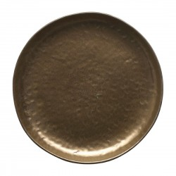 Vilamoura Coupe Plate Bronze 220mm