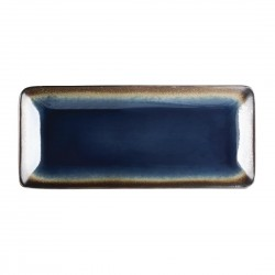 Olympia Nomi Rectangular Plate Blue 245mm