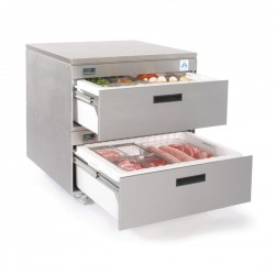 Adande Refrigeration Unit With Rear Engine Double Drawer
