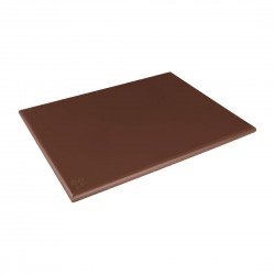 Hygiplas Extra Large Brown High Density Chopping Board