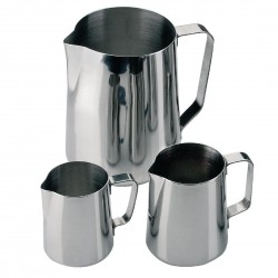Milk Jug Stainless Steel 910ml