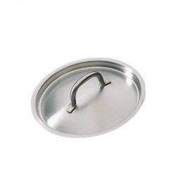 Bourgeat Stainless Steel Saucepan Lid 180mm