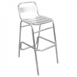 Bolero Aluminium Bar Stools (Pack of 4