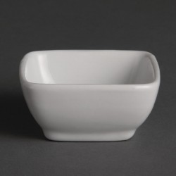 Olympia Miniature Rounded Square Dishes 60mm